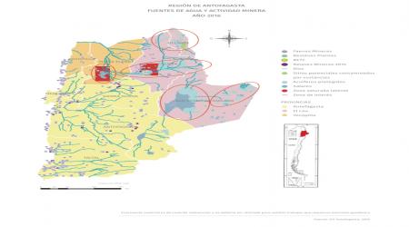 Recursos hídricos y minería