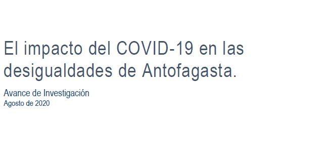 El impacto del COVID-19 en las desigualdades de Antofagasta